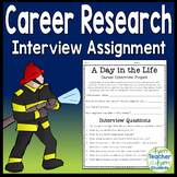 Career Interview: 'Day in the Life' Occupation Research: Perfect for Career Day!