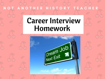 Career Interview Homework