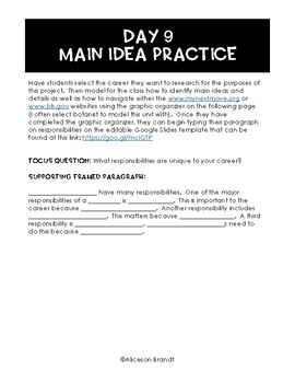 Career Readiness and Interview Simulation Bundled Unit