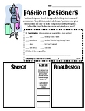 Career Lesson: Fashion Designers