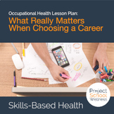 Career Lesson Plans -  Things to think about when choosing a career!