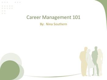 Career Management 101 Lesson