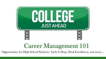 Career Management 101 - Opportunities for High School Stud