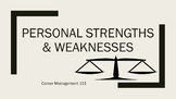 Career Management 101:  Personal Strengths and Weaknesses Lesson