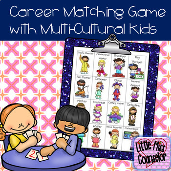 Career Matching Game with Multi-Cultural Kids