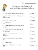 Career Matching Worksheet