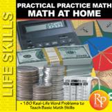 Math at Home: Practical Math Word Problems