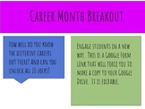 Career Month Digital Breakout