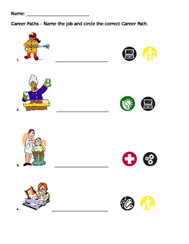 Career Paths Worksheet