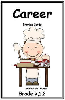 Phonics Cards- Career Theme
