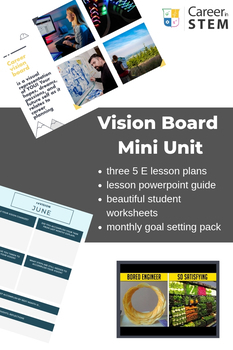 Career Planning Bootcamp: Unit 1 Discover (goal setting lessons, worksheets)