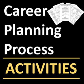 Career Planning Process Activities