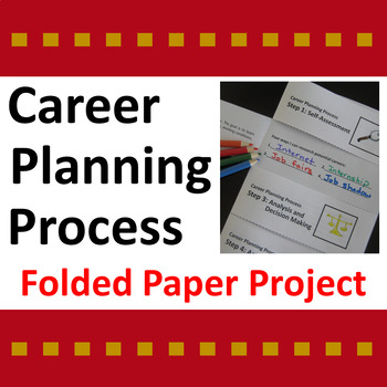 Career Planning Process Folded Paper Project
