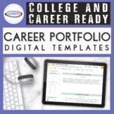 Professional Career Portfolio Templates {Editable Printabl