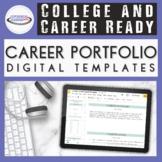 Professional Career Portfolio Templates {Editable, Printab