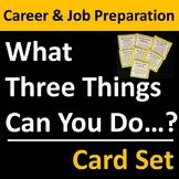 Career Preparation Card Set Group Activity
