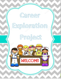 Comprehensive Career Exploration Project NO PREP COMMON CORE