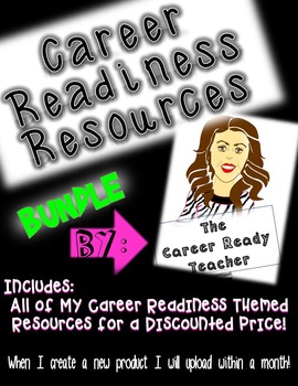 UPDATED Career Readiness Bundle: Now 11 Products for a Discounted Price!
