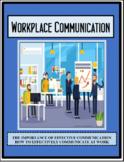 Employability Skills - Employment  - WORKPLACE COMMUNICATI