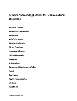 Career Readiness Reading Guide for Sped, Lifeskills
