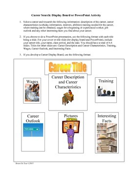 Career Research Activity