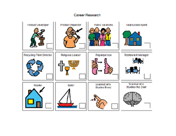 Career Research FREE  Special Education & Autism