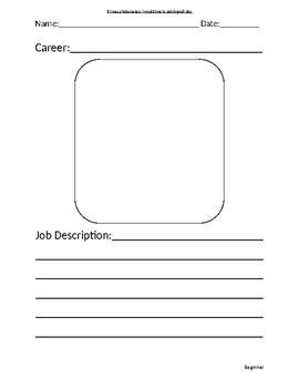 Career Research - Beginner