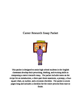 Career Research Essay Packet