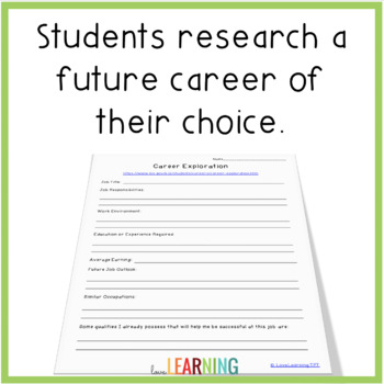Career Research FREEBIE!