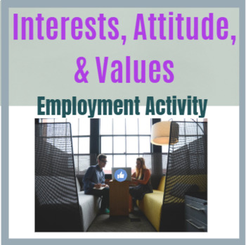 Career Research: Interests, Attitude, Values