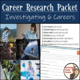 Career Research Packet - Research SIX Careers - Salary? Job Outlook? Education?