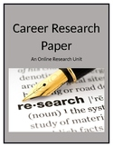 Career Research Paper Unit