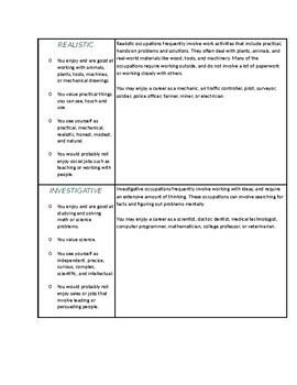 Career Research Portfolio