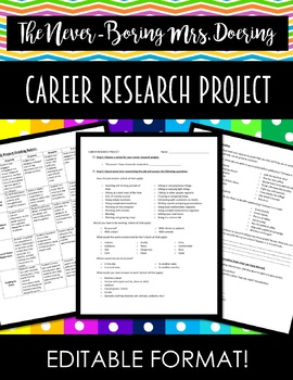 Career Research Project