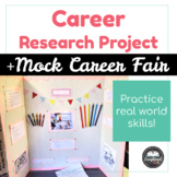 Career Research Project + Mock Career Fair: A Project for Secondary Students
