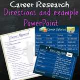 Career Research Project and PowerPoint