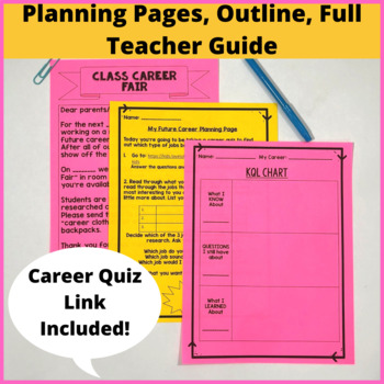 Career Research Report Unit aligned to common core