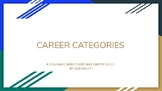 Career SCategories-fun game-review career clusters, soft s