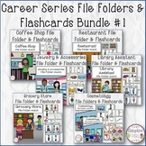 Career Series File Folder and Flashcard Bundle #1