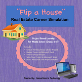 "Career Simulation:  Real Estate Investor - ""Flip"" a House"