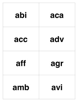 Career Skills: Alphabetizing Letters and Word Parts