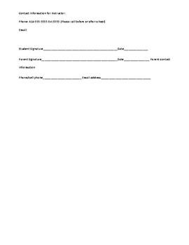 Career Tech Classroom Management Plan