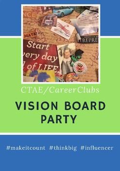 Career Tech Club Vision Board Party ( FBLA, DECA, FCCLA, TSA)