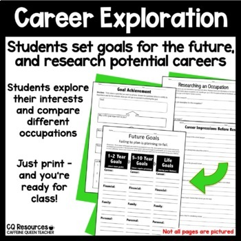 Career Tech Resource GROWING Bundle for Work and Vocational Classes