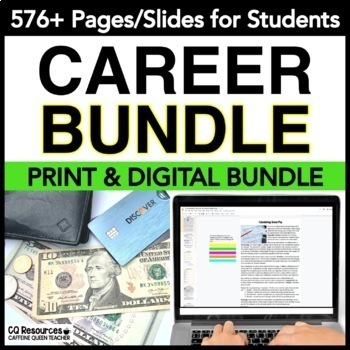 Career Tech GROWING BUNDLE for Work and Vocational Classes