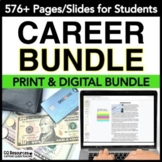 Career Exploration Activities for Employment and Vocational Education BUNDLE