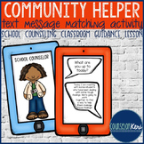 Career Education Classroom Guidance Lesson: Community Helper Daily Tasks