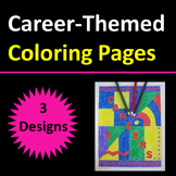 Career Themed Coloring Pages
