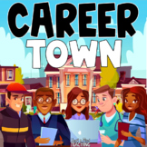 Career Town for Google Slides Distance Learning