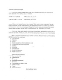 Career Unit- Math Focused